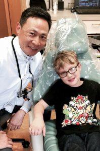 Kirkland dentist Dr.Cheung is like family.